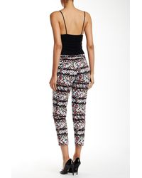 Anne Klein - Multicolor Derby Leaf Bowie Pant - Lyst