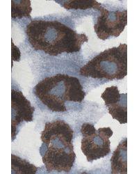 Daniel Buchler - Black Cheetah Print Jersey Pants - Lyst