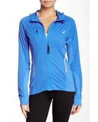 Asics | Blue Fujitrail Jacket | Lyst