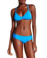 Lucky Brand - Blue 'moccasin' Hipster Bikini Bottom - Lyst