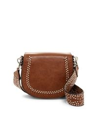 Urban Expressions | Brown Jelina Vegan Leather Crossbody | Lyst