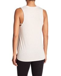 David Lerner - White Knit Tank Top - Lyst