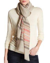 Saachi - Multicolor Wool & Silk Blend Wrap - Lyst