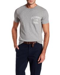 J.Crew - Gray Olympic Trail Pocket Tee for Men - Lyst