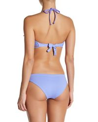 Maaji - Purple Lavender Shore Underwire Reversible Bikini Top - Lyst