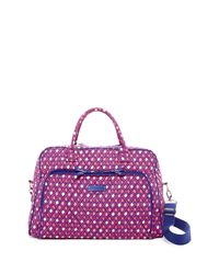 Vera Bradley | Pink Weekend Travel Bag | Lyst