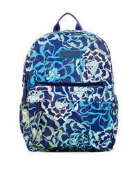 Vera Bradley - Blue Lighten Up Just Right Backpack - Lyst