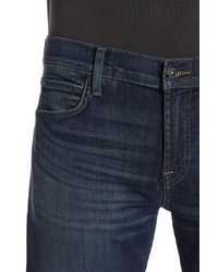 7 For All Mankind - Blue Standard Straight Leg Jeans for Men - Lyst