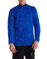 Moschino - Blue Soft Sweater for Men - Lyst