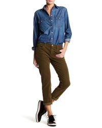 Current/Elliott | Multicolor The Fling Straight Leg Jean | Lyst
