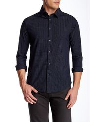 Slate & Stone | Blue Button Front Slim Fit Shirt for Men | Lyst
