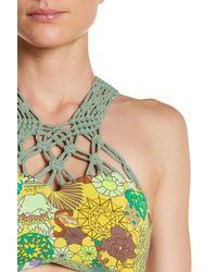 Maaji - Multicolor Lace Valley Reversible Bikini Top - Lyst