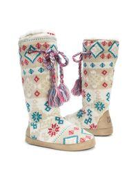 Muk Luks - Multicolor Grace Slipper Boot - Lyst