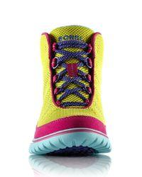 Sorel - Blue Tivoli Go High Sneaker (women) - Lyst