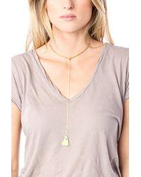 Gorjana | Metallic Laguna Beaded Necklace | Lyst
