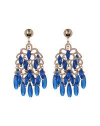 BaubleBar - Blue Chandelier Drop Earrings - Lyst