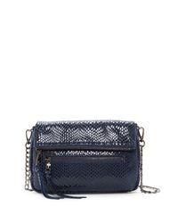 Sorial - Blue Carmella Leather Crossbody - Lyst
