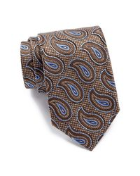 John W. Nordstrom | Brown Ferrante Pine Silk Tie for Men | Lyst