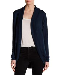 Heather by Bordeaux | Blue Cocoon Cardigan | Lyst