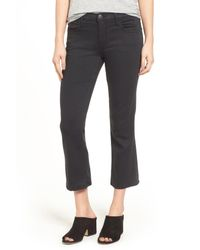 Current/Elliott - Multicolor The Kick Crop Flare Jeans - Lyst