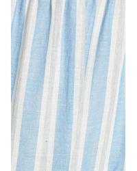 Maggy London - Blue Stripe Shift Dress - Lyst
