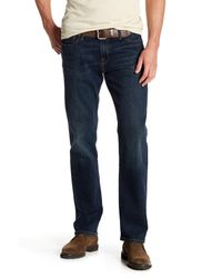 "Lucky Brand - Blue 221 Original Straight Leg Jeans - 30-34"" Inseam for Men - Lyst"