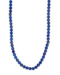 Lana Jewelry | Blue Long Beaded Necklace | Lyst