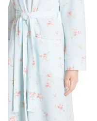 Carole Hochman - Multicolor Floral Print Quilt Robe - Lyst