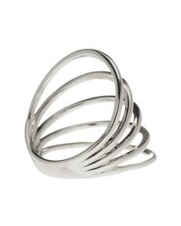 Gorjana - Metallic Carine Multi-bar Ring - Size 7 - Lyst
