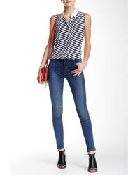 Levi's | Blue 721 High Rise Skinny Jean | Lyst