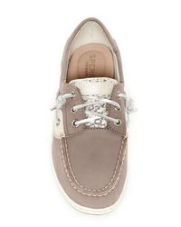 Sperry Top-Sider - Gray Songfish Python Printed Boat Shoe - Lyst