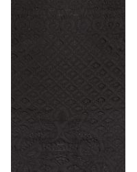 Bardot - Black Lace-up Detail Sheath Dress - Lyst