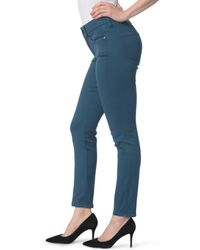 NYDJ | Blue Ami Colored Stretch Skinny Jeans | Lyst