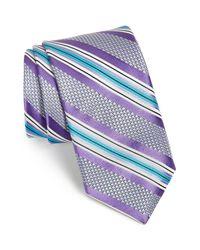 John W. Nordstrom - Purple Yedlin Woven Silk Tie for Men - Lyst