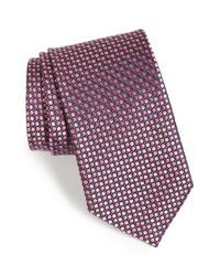 John W. Nordstrom - Pink Dot Silk Tie for Men - Lyst