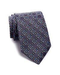 John W. Nordstrom - Blue Sambore Neat Silk Tie for Men - Lyst