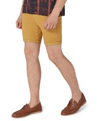 Topman - Multicolor Stretch Skinny Fit Chino Shorts for Men - Lyst