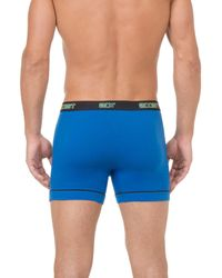 2xist - Blue Performance 2-pack Stretch Boxer Briefs for Men - Lyst
