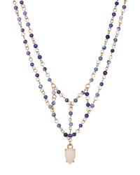 BaubleBar - Blue Sarah Pendant Necklace - Lyst