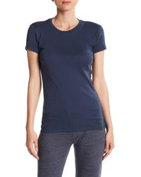 Alternative Apparel - Blue Scoop Neck Tee - Lyst