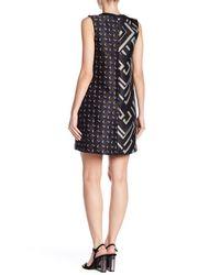 Max Mara - Green Dax Mixed Print Sleeveless Dress - Lyst