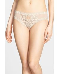 Natori - Natural Feathers Hipster Briefs - Lyst