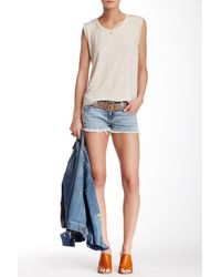 Siwy - Blue Camilla Cutoff Shorts - Lyst