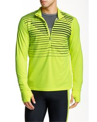 Brooks | Green Dash 1/2 Zip Jacket for Men | Lyst