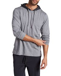 Tommy Bahama | Gray Heather Long Sleeve Jersey Shirt for Men | Lyst