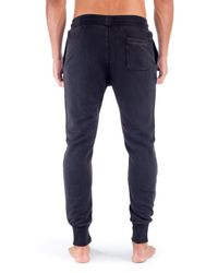 Unsimply Stitched - Blue Stone Washed French Terry Jogger for Men - Lyst