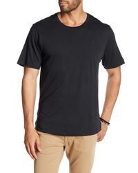Tommy Bahama   Black Solid Short Sleeve Jersey Tee for Men   Lyst