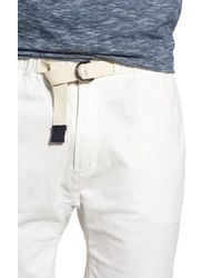 Surfside Supply - White Stretch D-ring Belt Short for Men - Lyst