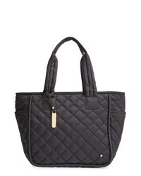 LeSportsac | Black Claudia Quilted Nylon Tote | Lyst