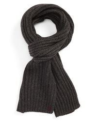 Polo Ralph Lauren - Multicolor Chunky Rib Knit Scarf - Lyst